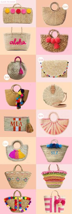 One trend I can't get enough of this season? Straw bags! Today, I'm rounding up the best straw bags of the summer. Happy shopping!