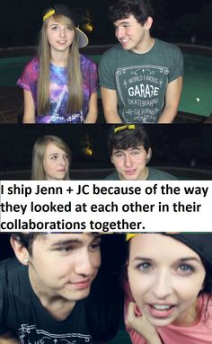 are jennxpenn and jc dating Kian lawley may have started off with a squeaky clean reputation in the popular youtube tribe our 2nd life, but has since gotten himself into a few sticky situations since he and fellow o2l member jc caylen started their own channel , they've opened up about more risque topics like partying and sex.