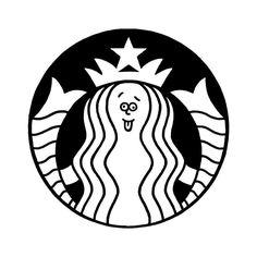 STARBUCKS #starbucks #cafe #coffee #logo #seijimatsumoto #松本誠次 #art #artwork #draw #graphic #design #illustration #イラスト #アート #デザイン #カフェ #スタバ