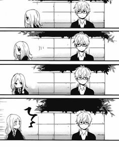 Walking together seems really hard for them.for some reason Hibi Chouchou, Walk Together, Anime Couples, Manga Anime, Cute, Movie Posters, Movies, Walking, Sleeves