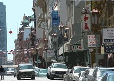 """""""Chinatown (photo art)""""  Click the """"pinned from"""" link to purchase this print."""