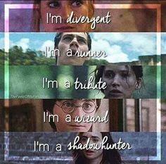 The Mortal Instruments Dary Anioła Harry Potter The Hunger Games Igrzyska Śmierci The Maze Runner Więzień Labiryntu Divergent Niezgodna
