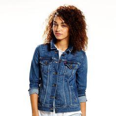 Women's Levi's Boyfriend Jean Jacket, Blue