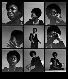 Nina Simone - potrait
