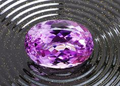 Kunzite is a relatively fragile stone but its appealing color, good clarity, and availability in larger sizes make it a popular gemstone. Indeed there is no other stone of comparable color available in the price range and all other lilac colored natural gemstones are more expensive.