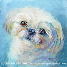 Painting a Dog a Day: 11/1/09 - 12/1/09