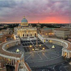Basílica de San Pedro y Columnata de Bernini