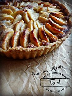 The Spoon and Whisk: Parisian Apple Tart
