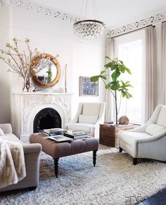 great site with ideas for mixing vintage and modern