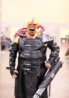 Amazing Home Made Nemesis Resident Evil Cosplay 2014 Phoenix Comicon (PCC) | Flickr - Photo Sharing!