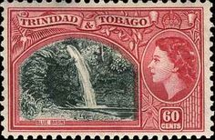 Trinidad and Tobago 1953 Blue Basin Fine Mint SG 276 Scott 81 Other West Indies and British Commonwealth Stamps HERE!