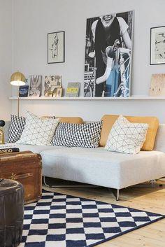 planete-deco - Model Home Interior Design Living Room Interior, Home Living Room, Living Room Designs, Living Room Decor, Deco Design, Home And Deco, Living Room Inspiration, House Design, House Styles