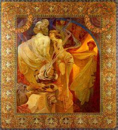 Alphonse Mucha - Quo Vadis  1902