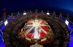 The London 2012 Olympic Closing Ceremony is in progress and looking spectacular!