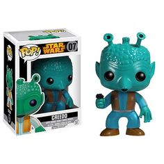 "Preview of the Star Wars ""Vault"" Greedo Pop! Vinyl (Release date: April) Pre-order link is in our profile!! Limited Quantities!! #Disney #starwars #greedo #bountyhunter #funko #popvinyl #popvinyls #funkopop"