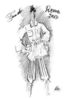 A Fendi first: Karl Lagerfeld's spring/summer sketches Illustration Mode, Illustrations, Karl Lagerfeld, Vogue Australia, Fashion News, Fendi, Sketches, Spring Summer, Fashion Drawings