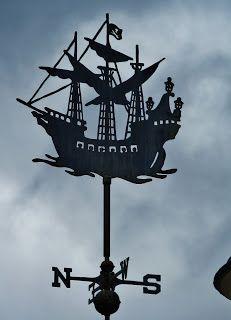Disney Vacation Kingdom: Weathervanes of Fantasyland ~ Captain Hook's Ship