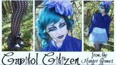 Easy/Quick Costume: Capitol Citizen The Hunger Games - YouTube