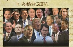 Here's Where the 2016 Presidential Candidates Stand on the 14th Amendment - Liberty Unyielding