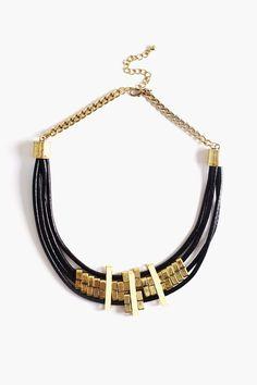 Pillar Collar Necklace