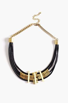 Pillar Collar Necklace on Nasty Gal