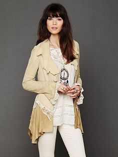 Lacey Inset Suede Jacket.....just cannot afford this, BUT love it!