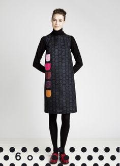 Funny! Kurkistus tunic from Marimekko. Pattern: Nadja / Pattern Designer: Vuokko Eskolin-Nurmesniemi