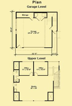 Apartment Garage Plans, Carriage House Plans & Apartment Floor Plans