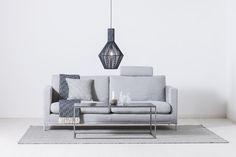 Helix soffa från Bröderna Anderssons i avtagbart tyg. Otrolig komfort och oslagbar kvalitet!