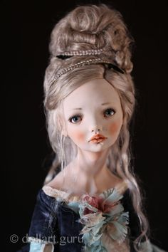 Little Tamer. Art doll by Alisa Filippova | Doll Art Guru