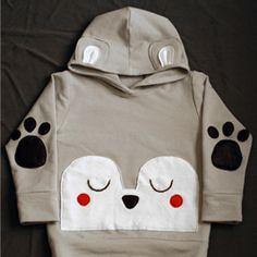Bear Necessities Hoodie   AllFreeSewing.com