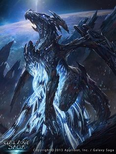Space Dragon now that a what i call a dragon AMAZING