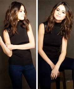 selena gomez hair medium length - Google Search
