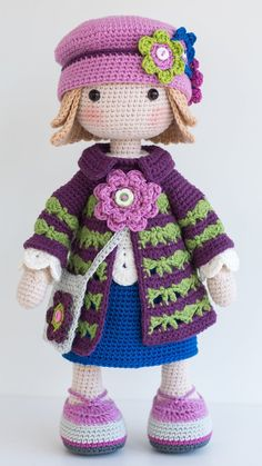 TILDA Crochet Doll Amigurumi doll Stuffed doll Handmade