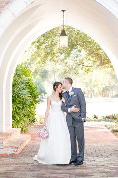 Glitter and Blush Winter Park Wedding at Casa Feliz – Style Me Pretty