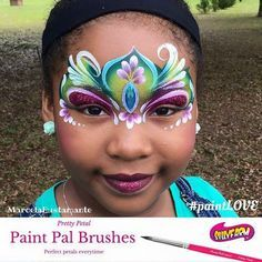 "Everything Face And Body Art on Instagram: ""Artists are loving the PaintPal brushes! Check them out at www.sillyfarm.com #sillyfarm #facepainted #facepainters #facepainting…"""