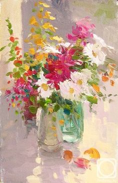 Makarov Vitaly. Bouquet of Gardens