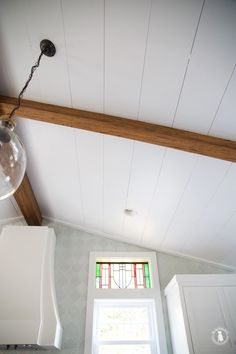 how to shiplap your ceilings - the handmade home