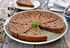 Giant chocolate cookie, a delicious recipe Cheesecakes, Fudge, Mashed Potatoes, Banana Bread, Pie, Cooking, Ethnic Recipes, Desserts, Food
