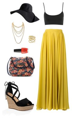Street style by dalma-m on Polyvore featuring polyvore fashion style Elie Saab UGG Marc Jacobs Charlotte Russe Lana clothing