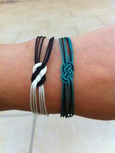 Bracelets noeuds marins I need to learn how to make.