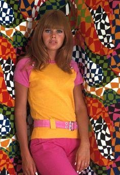 1960's fashion Brit Eckland
