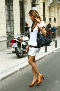 Daisy Vega of Blog de Vega Royo-Villanova: Head to toe in Tommy Hilfiger