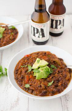 Black Bean & Beer Chili