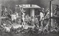 Resultado de imagem para senzala escravos