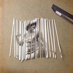 Striped Collages by Susana Blasco – Inspiration Grid | Design Inspiration