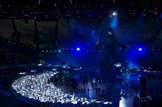 Voldemort in the Olympics opening ceremony