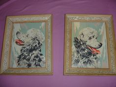 French Poodle Paint by Number