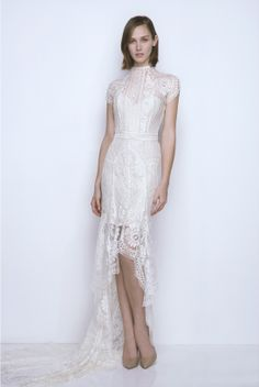 Lover White Magick lookbook: white lace dress you could picture on a delicate bride. #wedding