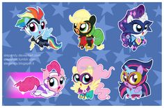 Power Ponies by StePandy.deviantart.com on @deviantART